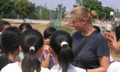 english teacher in China