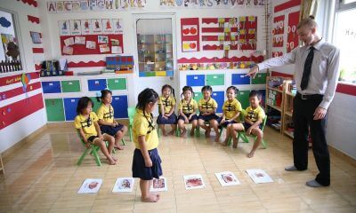 teaching opportunity in China