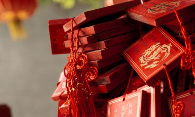 importance of red color in China
