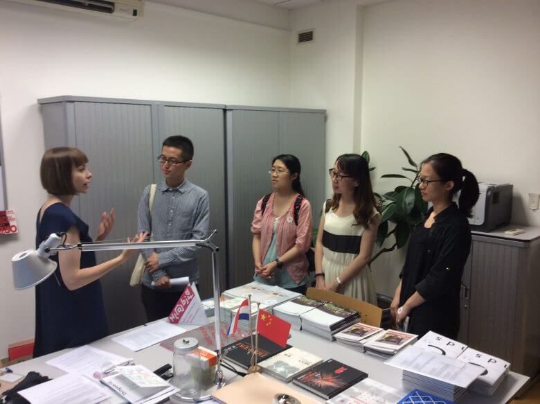 foreigner in a chinese company