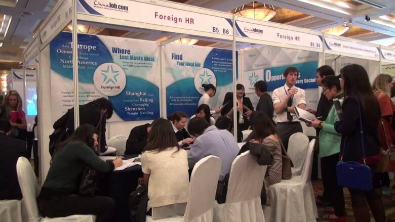 job fairs for foreigners in China
