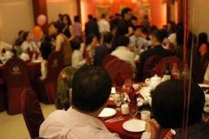 Chinese business dinner