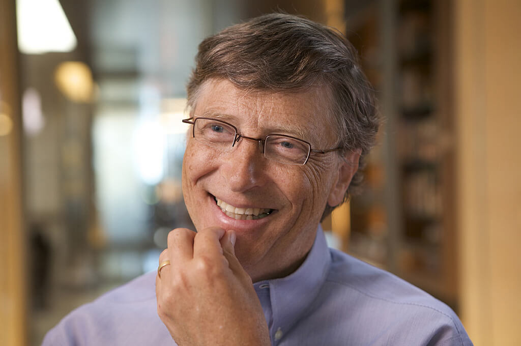 What would you ask Bill Gates in an interview?