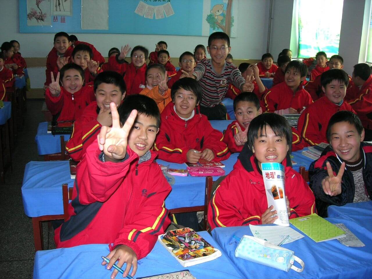 Next level: teaching in China