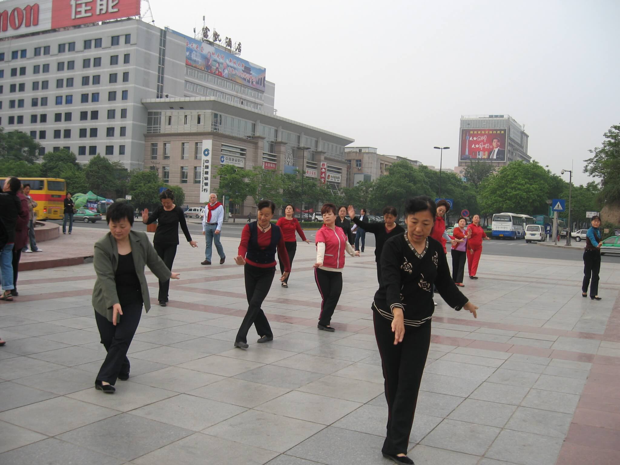 Why do so many Chinese do tai chi?