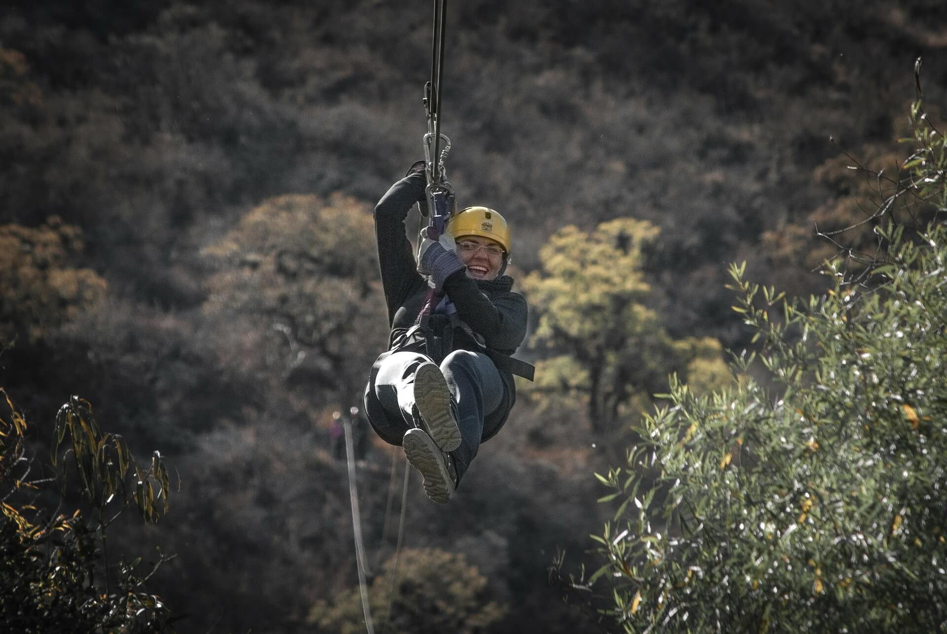 The best ziplines around: the Great Wall