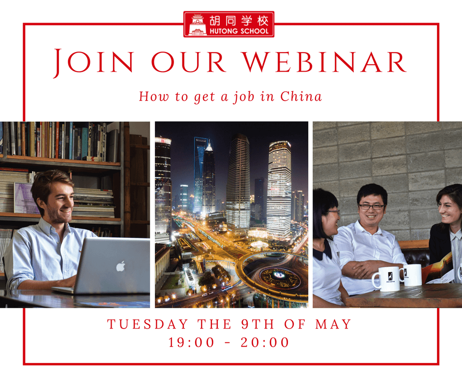Introducing The Hutong School Webinar: How to Get a Job in China