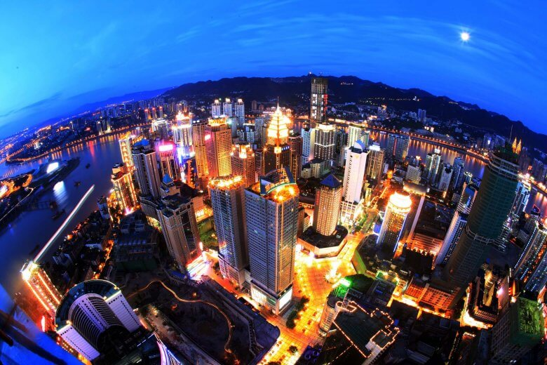 Chongqing Night Yuzhong