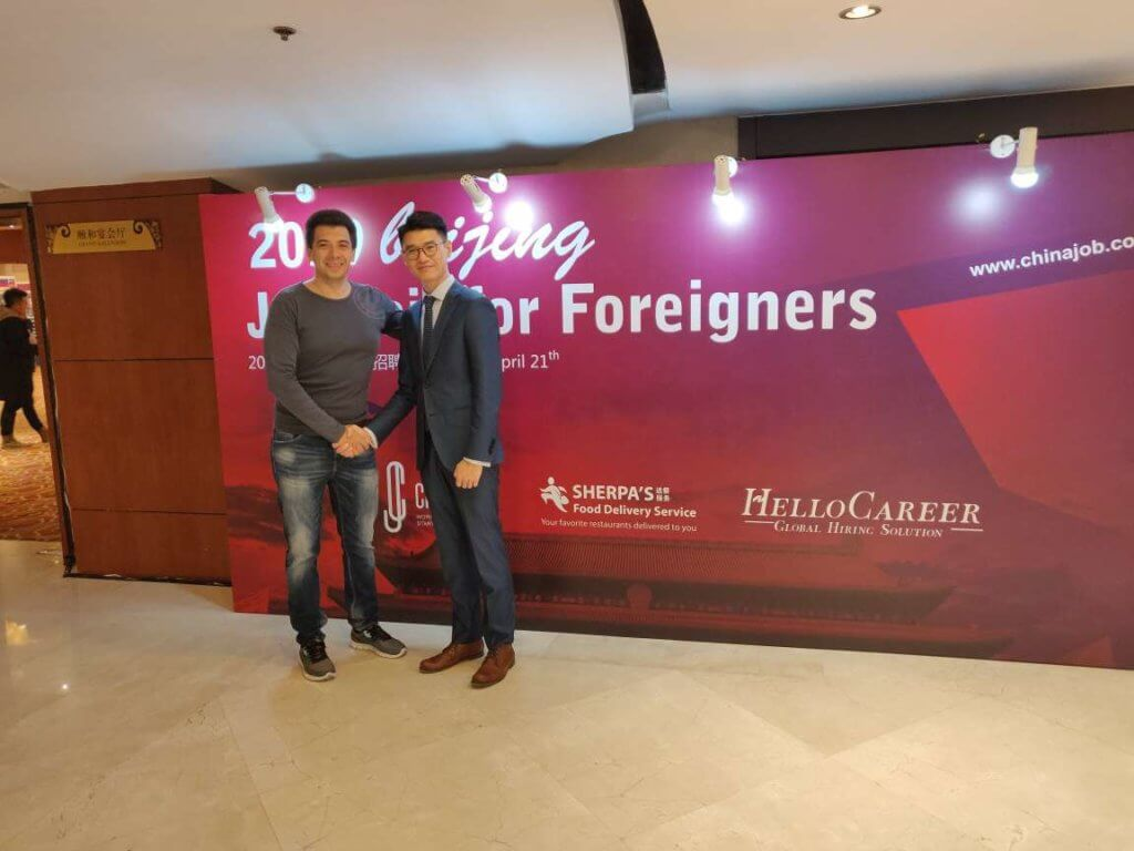 How LaowaiCareer helps foreigners finding a job in China.