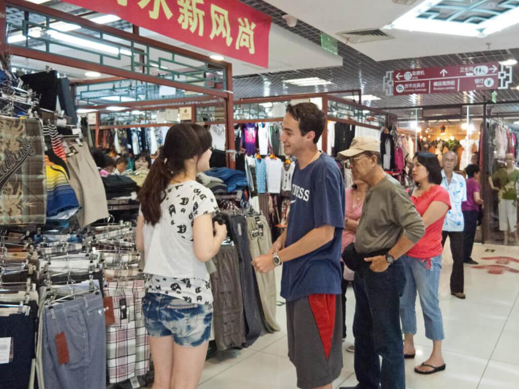 Silk Market in Beijing