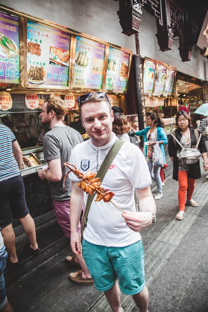 Mandarin Cafe - Career Jet Prgoram Participant George - 2019