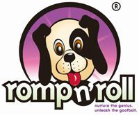 Romp n' Roll China Logo